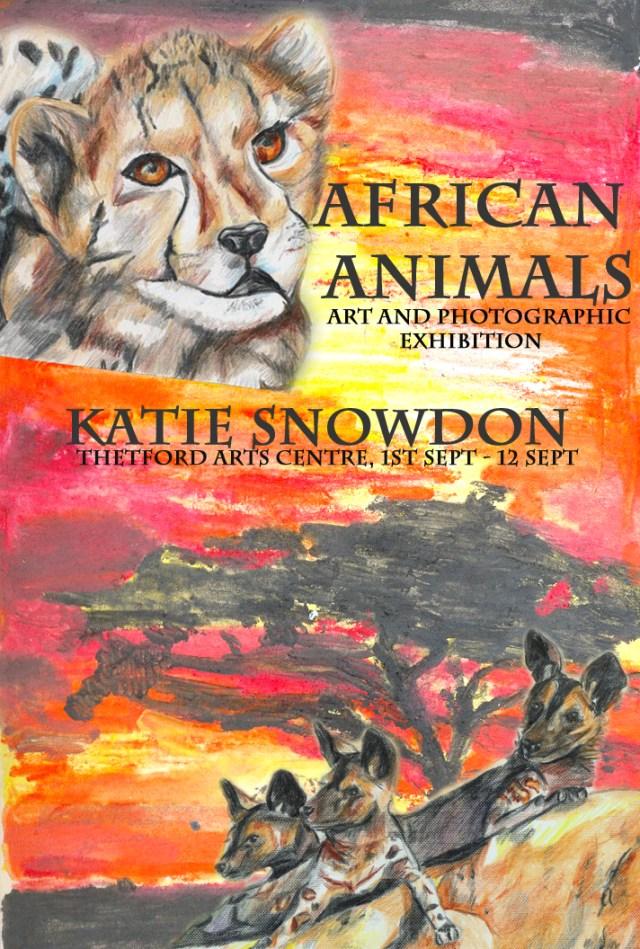 Katie Snowdon art exhibition