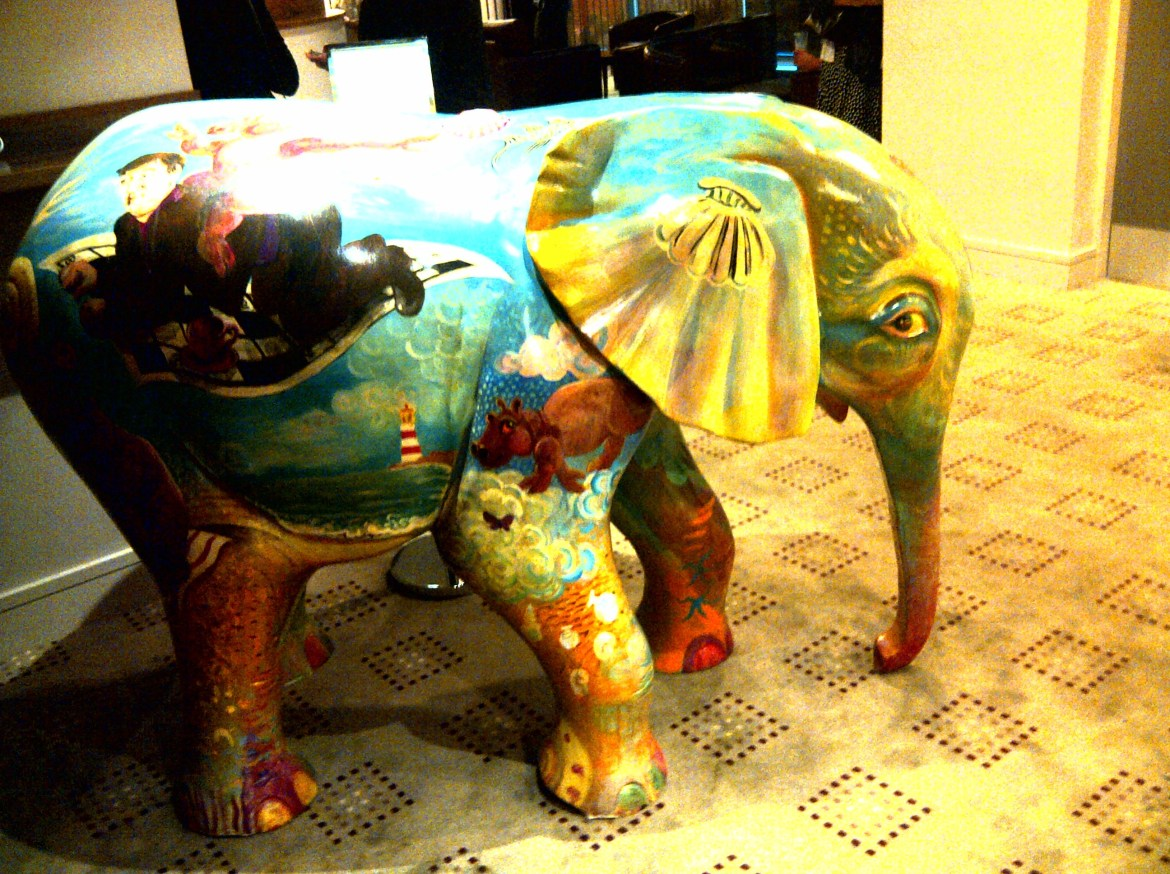 Elephant at the Theatre Royal