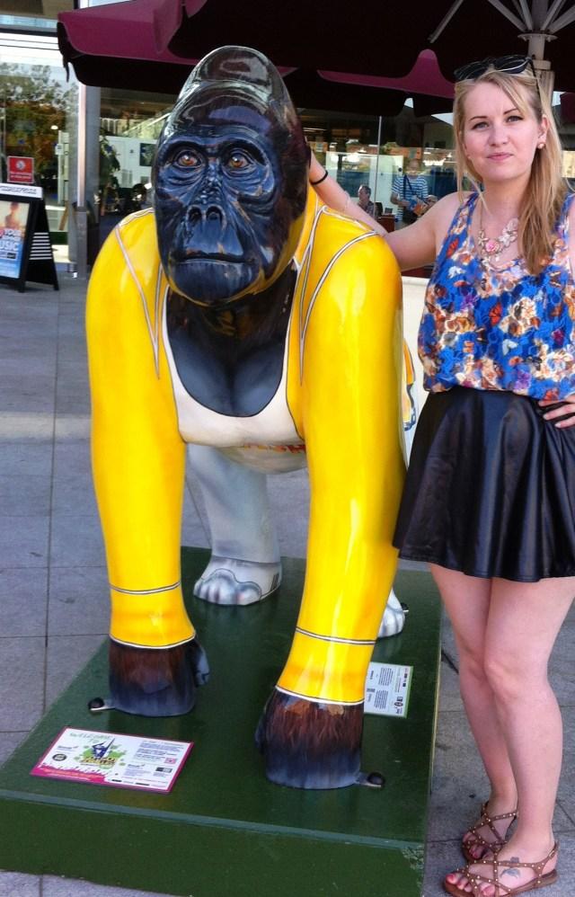 Radio Go Go Gorilla Freddie and Kate on Conservation, Norwich
