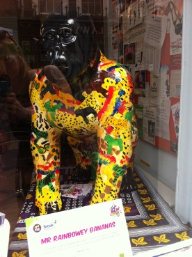 Go Go Gorilla Mr Rainbowey Bananas, Norwich