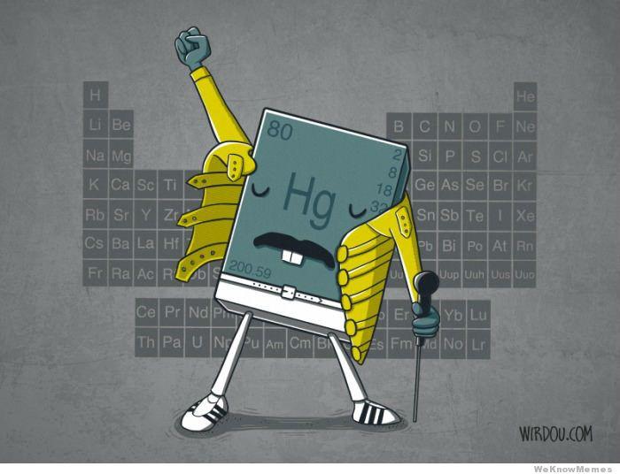 The Freddie Mercury element