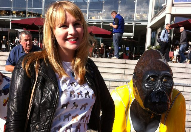 Kate on Conservation and Go Go Gorilla Freddy - Norwich