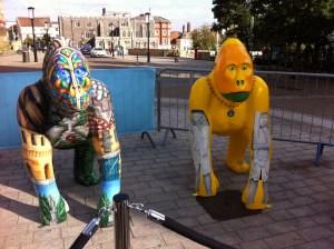 Go Go Gorillas Geoffrey and Juno - Norwich