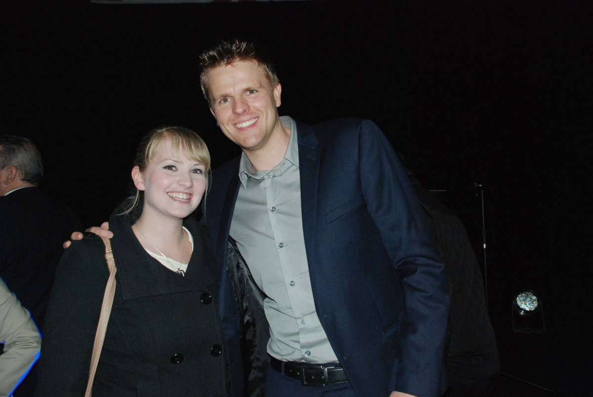 Jake Humphrey and Kate on Conservation