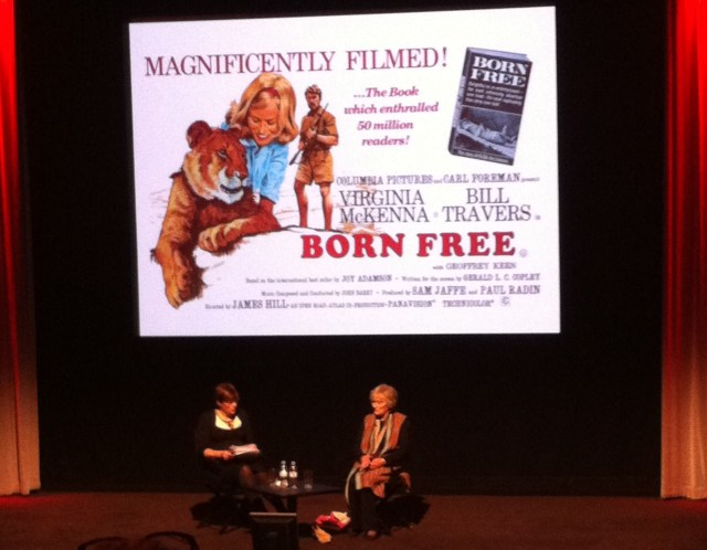 A Wild Night at the Movies - Kate Silverton and Virginia McKenna