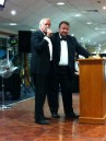 John Rendall and auctioneer James Lewis