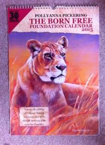 Pollyanna Pickering calendar for Born Free