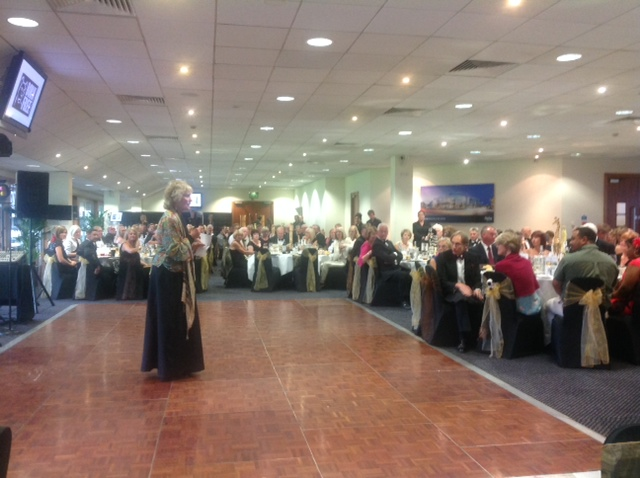 Virginia Mckenna, addressing the room