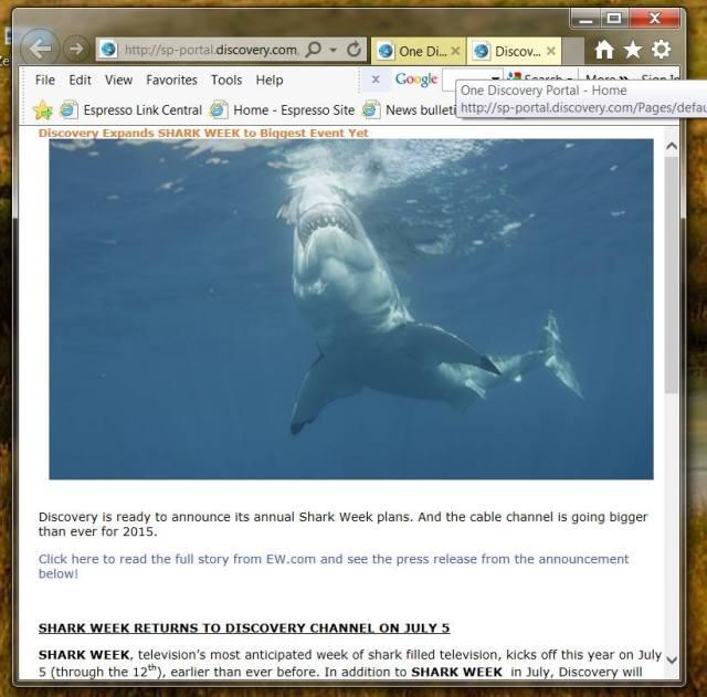 discovery shark week