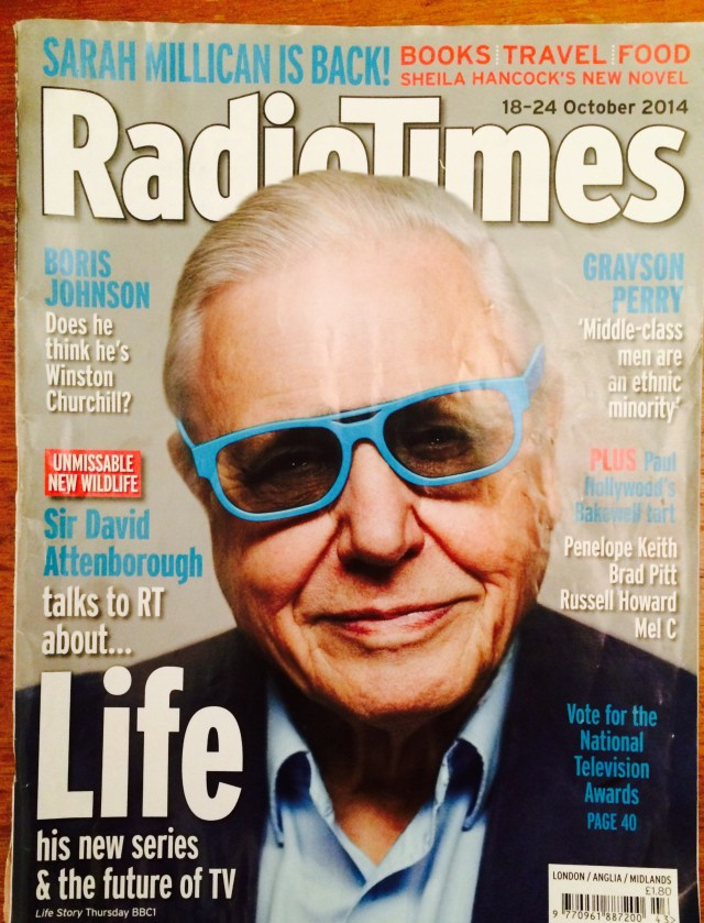 Sir David Attenborough Radio Times