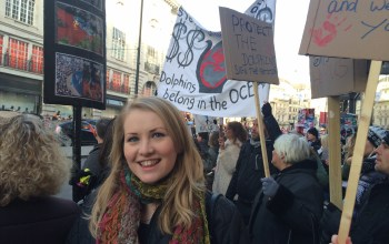 Kate on Conservation, dolphin slaughter protest