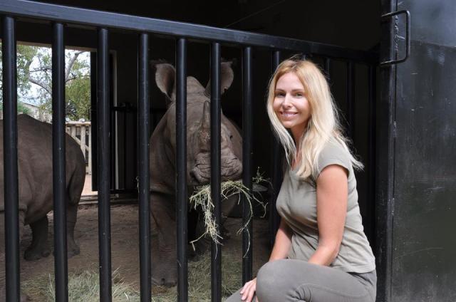 Feeding baby rhino - the best experience