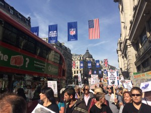 Global march for elephants and rhinos, London
