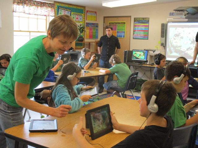 Discovery Education blog: VR apps for classroom conservation