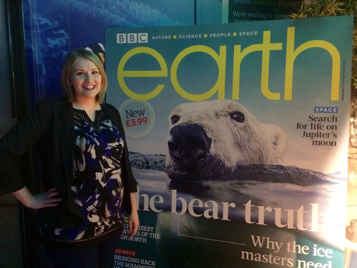 Kate on conservation earth mag
