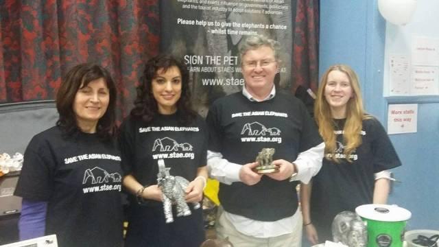 STAE team at Ealing Animal Bazaar