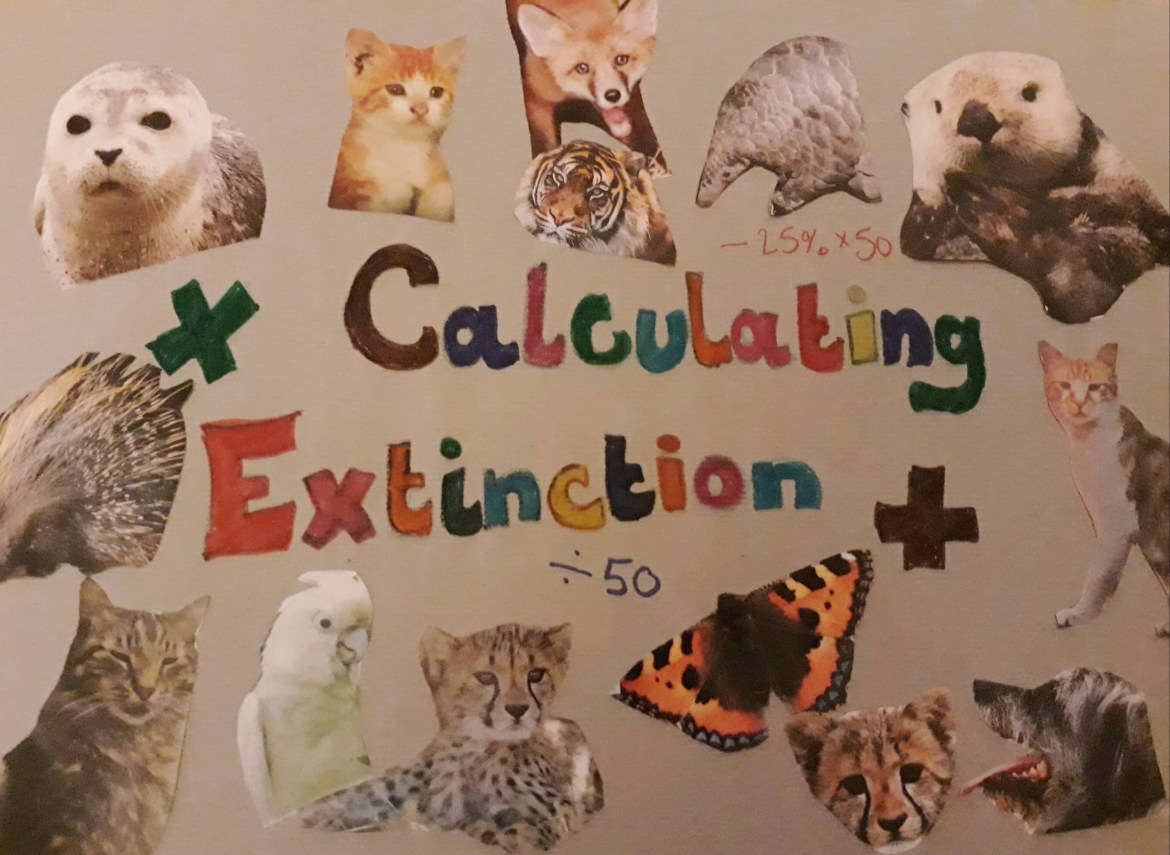 Calculating extinction; finding ways to get children thinking