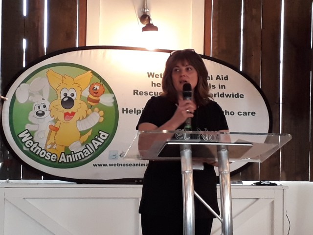 Andrea Gamby-Boulger at wetnose day