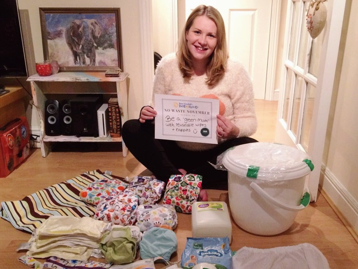 No Waste November: Making the switch to reusable cloth nappies