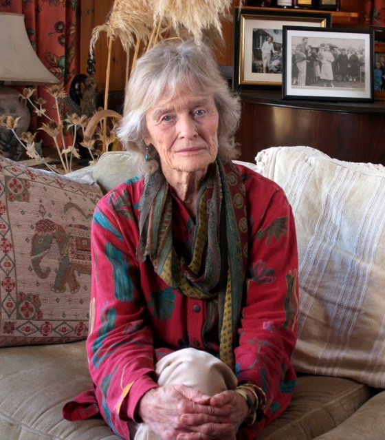 virginia mckenna at home