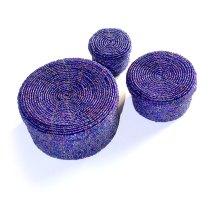 Purple-Beaded-Baskets