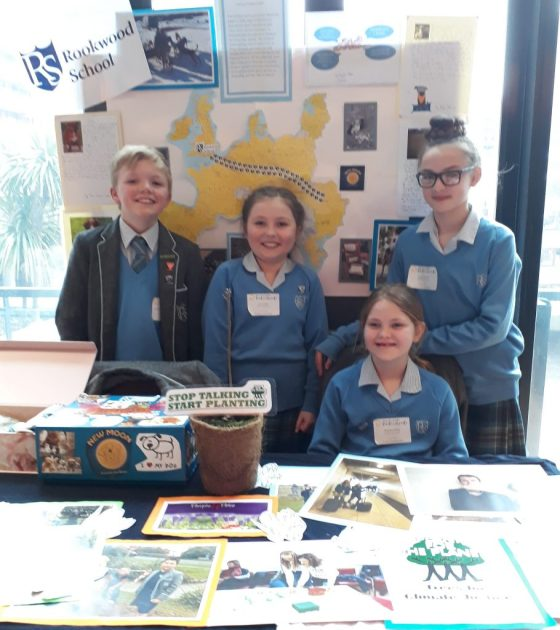 Rockwood School's display at Roots and Shoots 2018