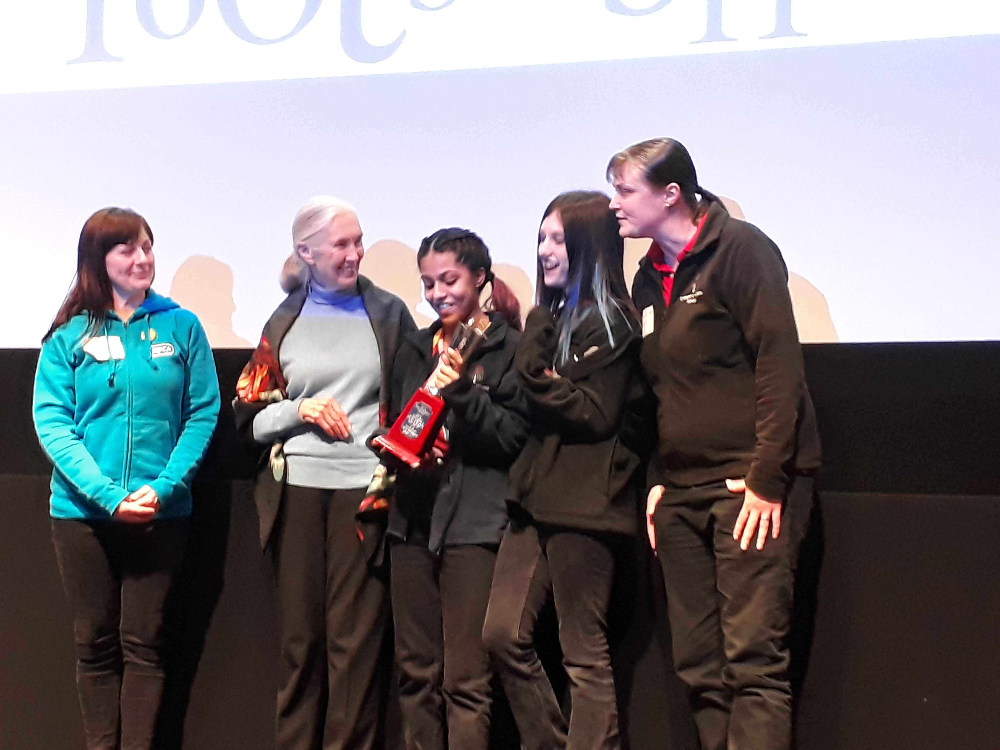 Most Outstanding Group Award: Children's Hospital School