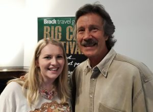 Jonathan Scott and Kate on Conservation at Big Cat Festival