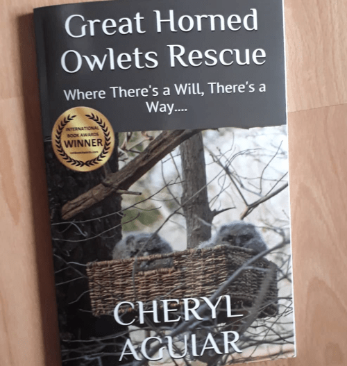 Great Horned Owlets Rescue book by Cheryl Aguiar