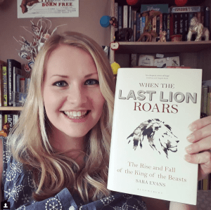 Kate on Conservation When the Last Lion Roars