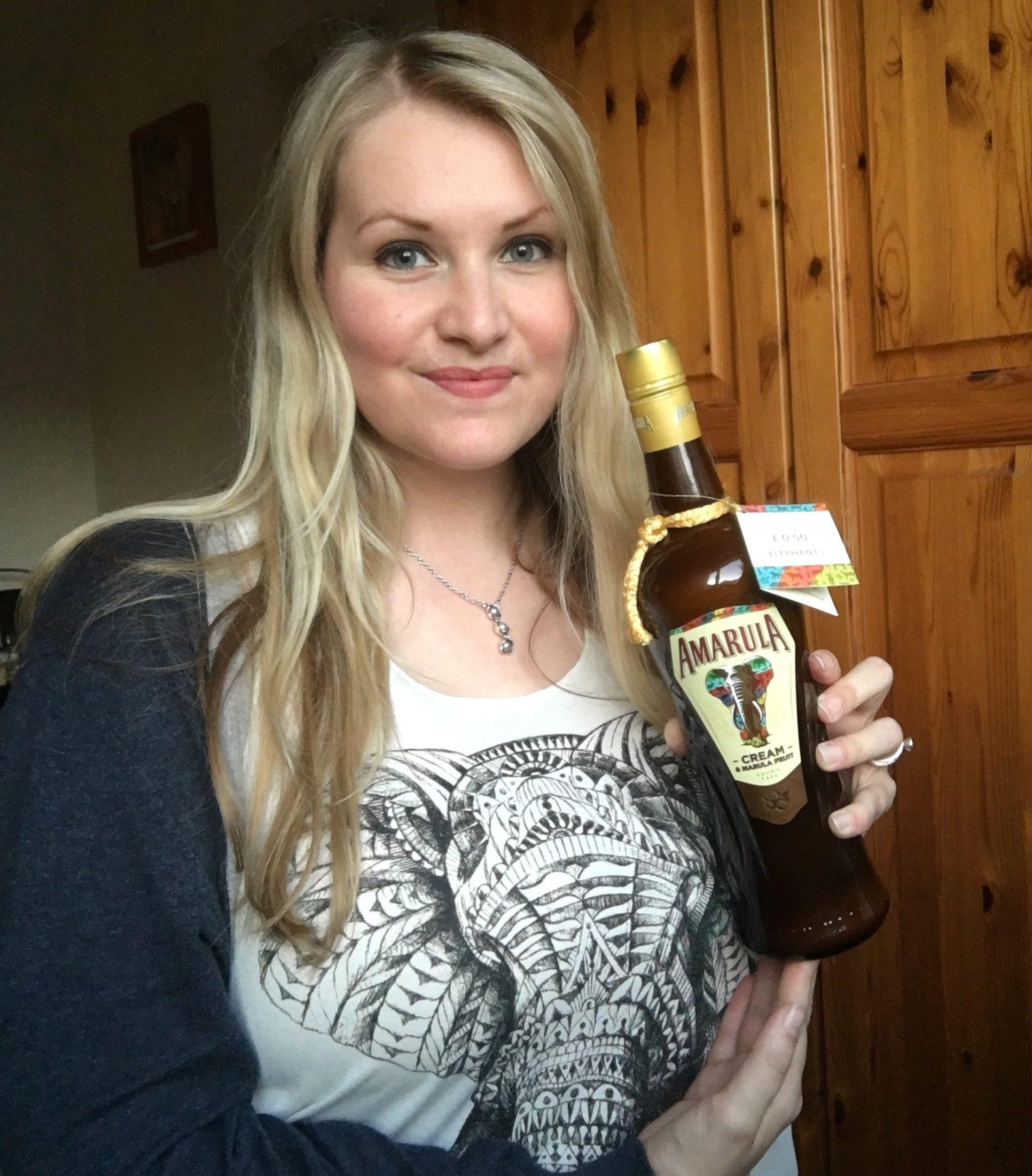 Kate on conservation supports Amarula elephant initiative
