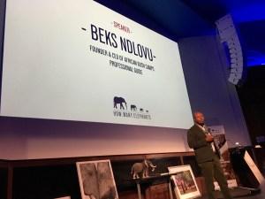 Beks Ndlovu, African Bush Camps Founder speaks at How Many Elephants