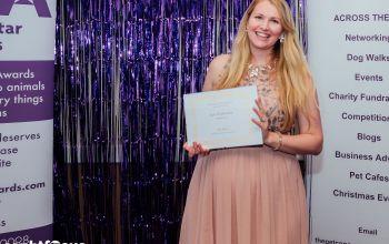 Kate Stephenson aka Kate on Conservation Animal Hero highly commended award