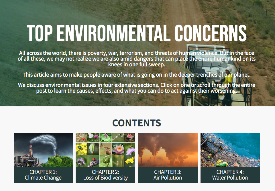 erizon top environmental concerns resources featured image