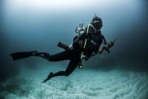 Marine-biologist-hammerhead-sharks-expert-Ilena-Zanella-under-the-sea