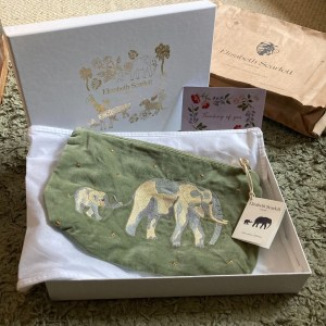 Elizabeth Scarlett elephant pouch