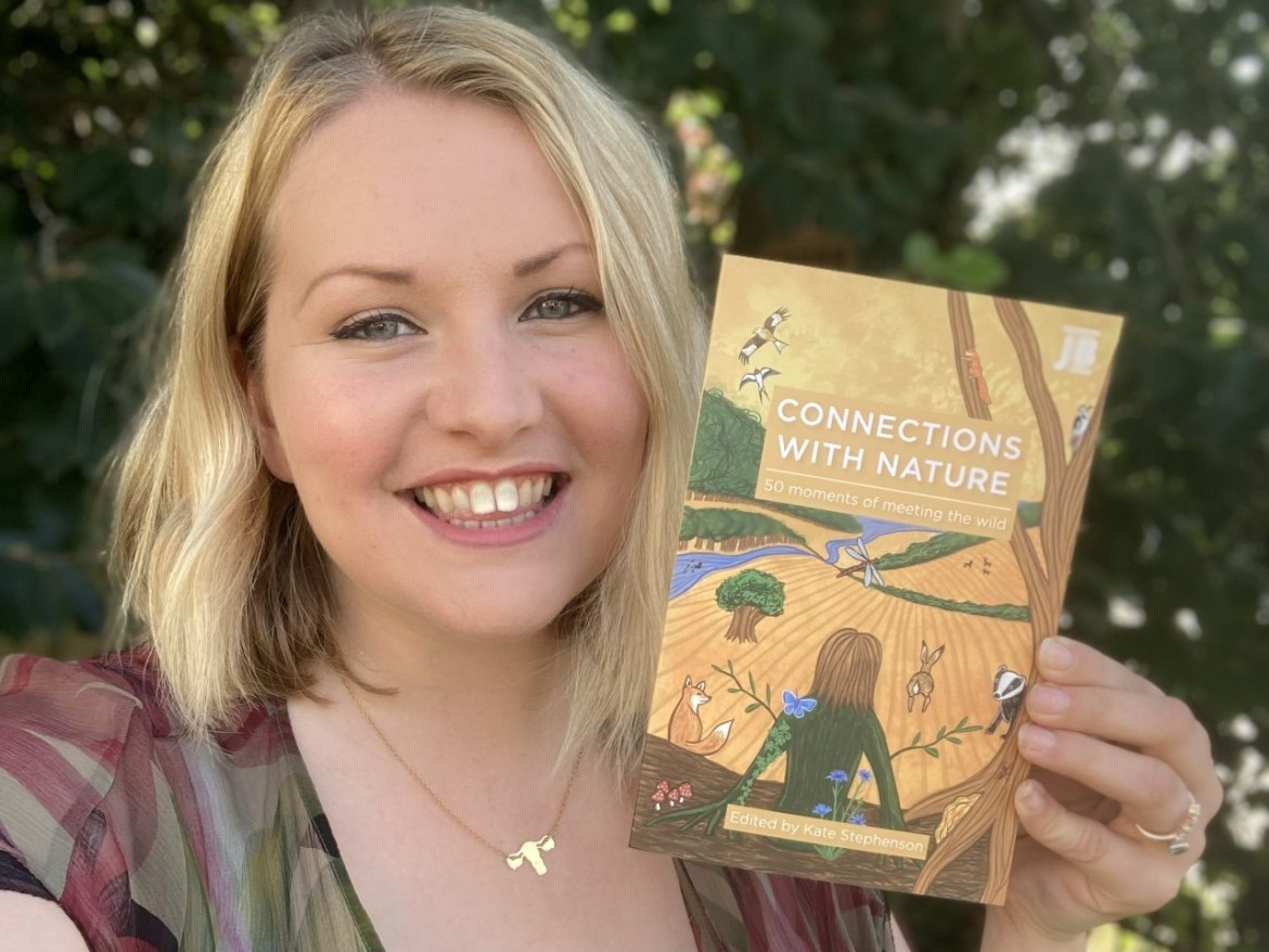 Connections With Nature: 50 moments of meeting the wild – new book launched today