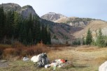 My camp under Timp