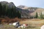 My camp under Timp