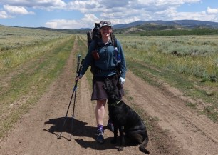 Rawlins to Steamboat, CDT. Dog backpacking.