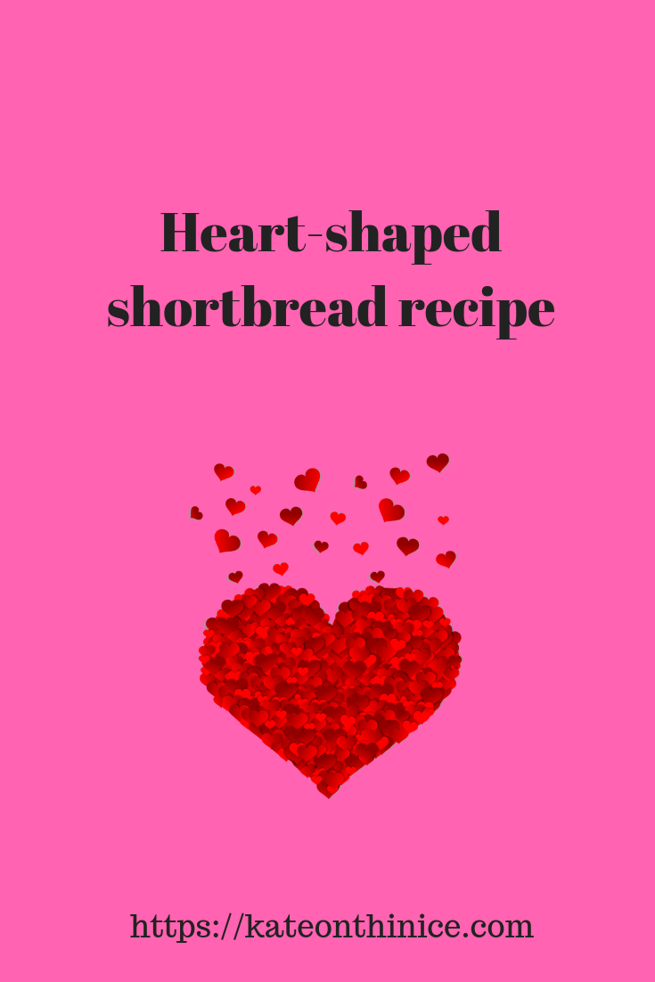 Heart-Shaped Shortbread Recipe