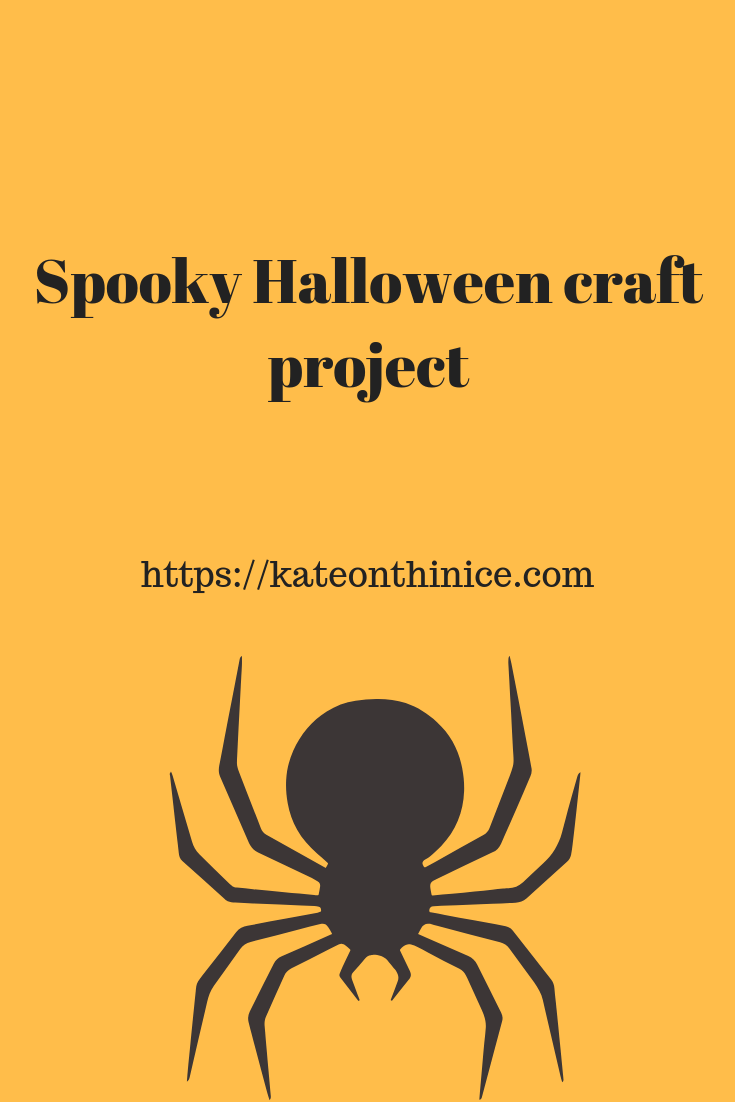 Spooky Halloween Craft Project