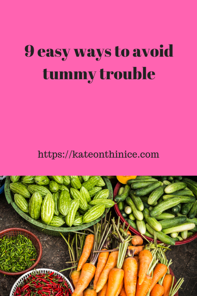 9 Easy Ways To Avoid Tummy Trouble