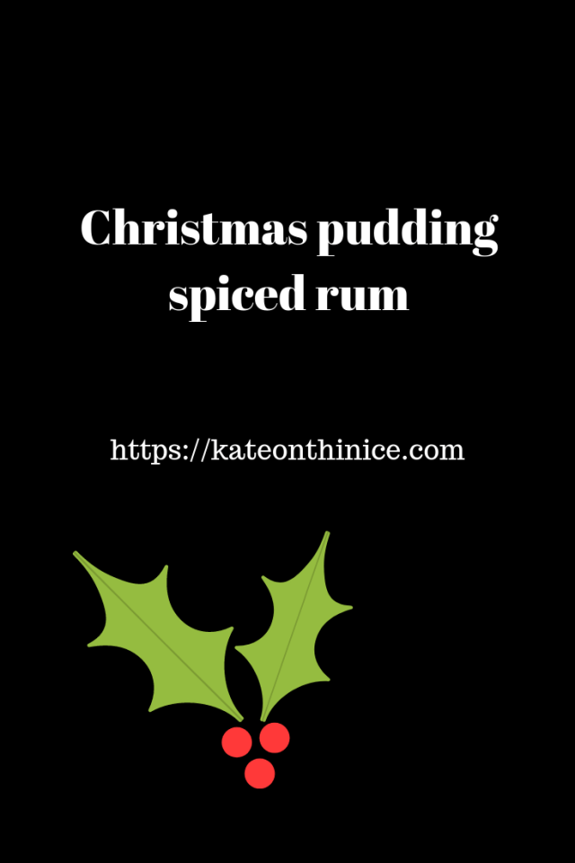 Christmas Pudding Spiced Rum