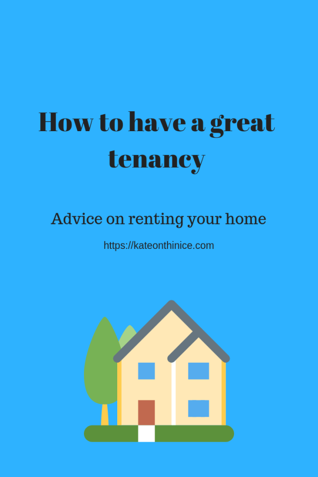 How To Have A Great Tenancy
