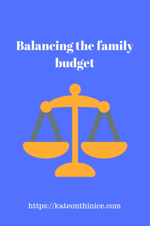 Balancing The Family Budget