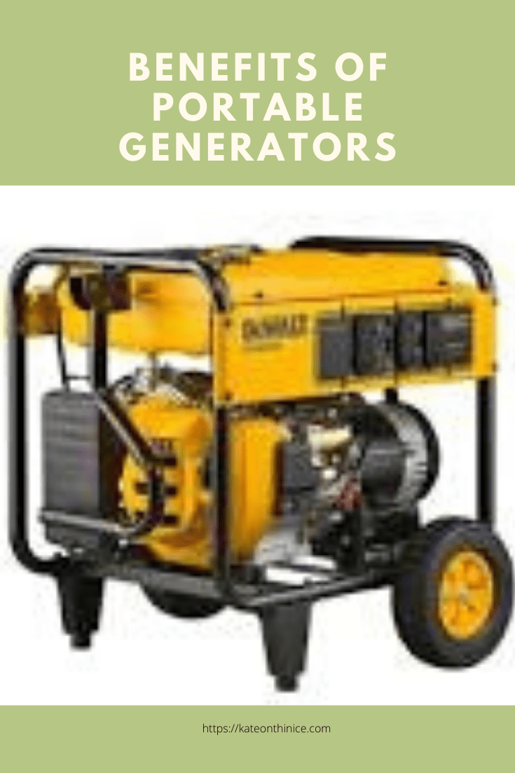 The Benefits Of Portable Generators