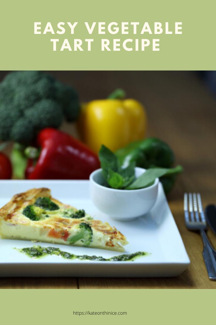 Easy Vegetable Tart Recipe
