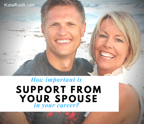 support from your spouse
