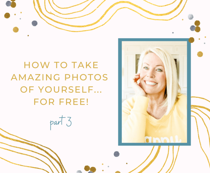 how to take amazing photos of yourself for free